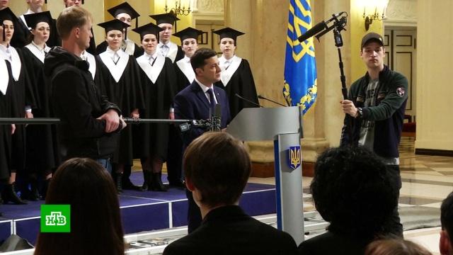 Зеленский назвал единственного противника на выборах.Украина, выборы.НТВ.Ru: новости, видео, программы телеканала НТВ