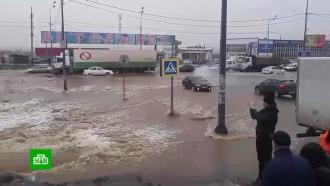 Затопило за минуты: вВоронеже выясняют причины небывалой коммунальной аварии