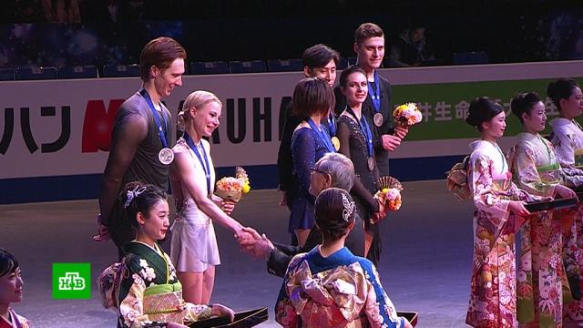 Российские пары взяли серебро ибронзу ЧМ по фигурному катанию.рекорды, спорт, фигурное катание.НТВ.Ru: новости, видео, программы телеканала НТВ