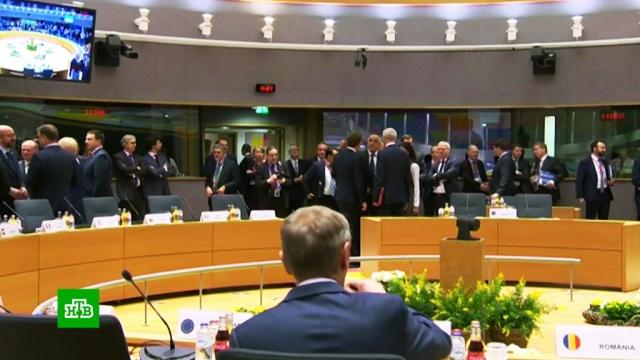 Исторический саммит: лидеры ЕС не могут согласовать решение об отсрочке Brexit.Великобритания, Европейский союз.НТВ.Ru: новости, видео, программы телеканала НТВ