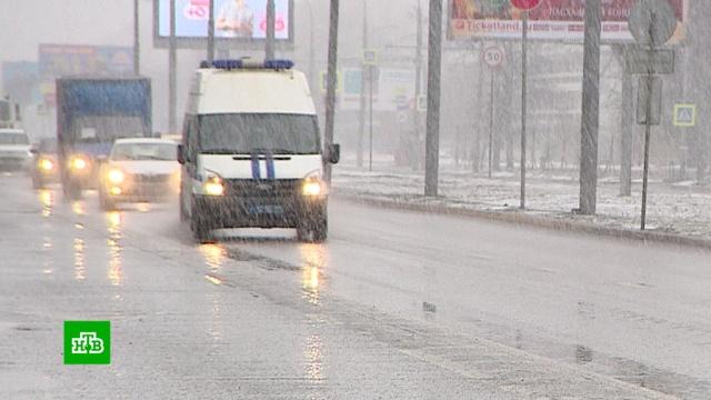 Зима не отступает: заморозки вернулись в Москву.Москва, весна, снег, погода.НТВ.Ru: новости, видео, программы телеканала НТВ