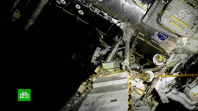 На МКС готовятся к первому в истории «женскому» выходу в космос.НАСА, Роскосмос, США, космос.НТВ.Ru: новости, видео, программы телеканала НТВ