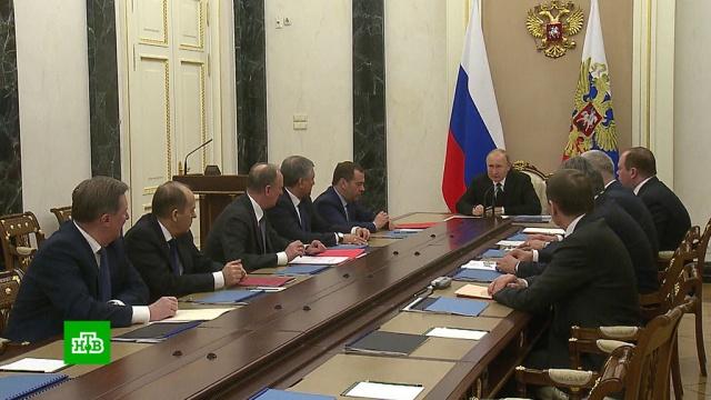 Путин обсудил с членами Совбеза ситуацию на Ближнем Востоке.Ближний Восток, Израиль, Путин, Трамп Дональд.НТВ.Ru: новости, видео, программы телеканала НТВ