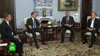 УМедведева попросили поставить Украине газ
