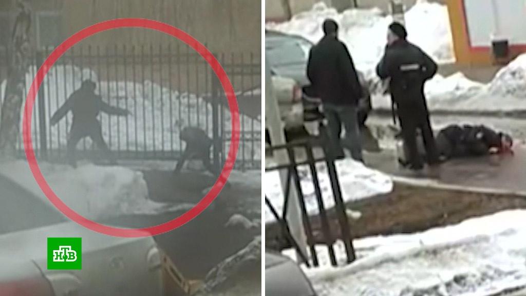 Мужчину застрелили после убийства полицейского: видео.полиция, смерть, Татарстан, убийства и покушения.НТВ.Ru: новости, видео, программы телеканала НТВ
