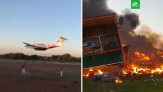 Поругавшийся с женой летчик протаранил дом на самолете