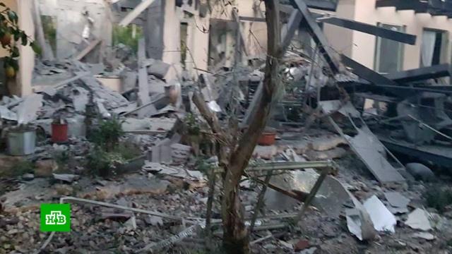 Выпущенная из сектора Газа ракета попала вжилой дом.Ближний Восток, Израиль, Палестина.НТВ.Ru: новости, видео, программы телеканала НТВ