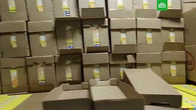В морге Югорска хранили тонны детского питания.НТВ.Ru: новости, видео, программы телеканала НТВ