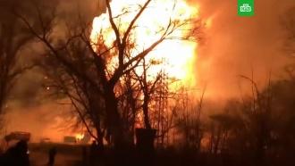 Украинский город сотрясла серия мощных взрывов