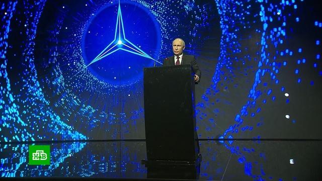 Губернатор Подмосковья поблагодарил Путина за поддержку строительства завода Mercedes-Benz.Московская область, автомобили, автомобильная промышленность, Путин.НТВ.Ru: новости, видео, программы телеканала НТВ