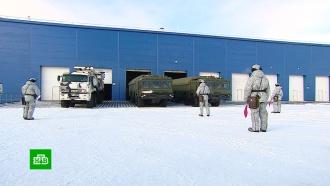 «Северный клевер»: Минобороны представило журналистам новую военную базу