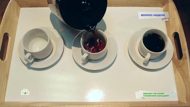 Влияетли кофе на усвоение кальция из пищи?НТВ.Ru: новости, видео, программы телеканала НТВ