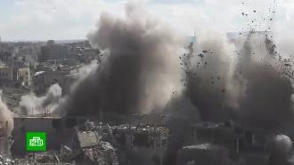 Взрывная работа: как саперы уничтожают схрон боевиков вСирии.Сирия, армии мира, армия и флот РФ.НТВ.Ru: новости, видео, программы телеканала НТВ