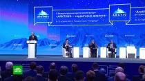Путин назвал тревожной тенденцией быстрое потепление вАрктике