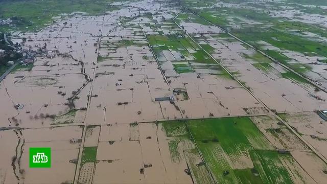 На Крите объявили чрезвычайное положение из-за наводнений.Греция, погода, наводнения.НТВ.Ru: новости, видео, программы телеканала НТВ