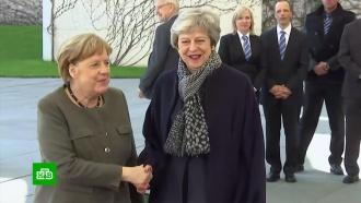 Мэй провела переговоры сМеркель оновой отсрочке Brexit