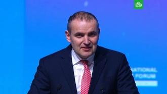 Президент Исландии заговорил <nobr>по-русски</nobr> на Арктическом форуме
