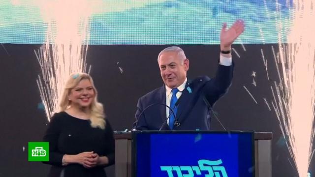 На выборах в Израиле партия Нетаньяху опережает оппозиционный блок.Израиль, выборы, парламенты.НТВ.Ru: новости, видео, программы телеканала НТВ