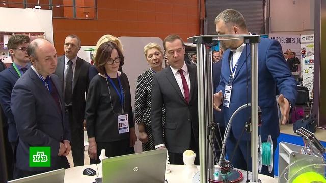 Медведев посетил открывшийся на ВДНХ международный салон образования.ВДНХ, Медведев, Москва, образование.НТВ.Ru: новости, видео, программы телеканала НТВ