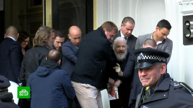 Жесткое задержание Ассанжа.WikiLeaks, Ассанж, Великобритания, задержание.НТВ.Ru: новости, видео, программы телеканала НТВ