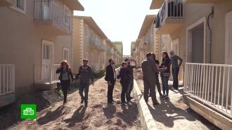 Иностранные репортеры оценили условия жизни влагере беженцев под Дамаском.Сирия, беженцы.НТВ.Ru: новости, видео, программы телеканала НТВ