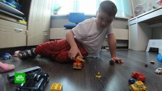 Семилетнему Саше срочно нужны средства на борьбу смышечной дистрофией