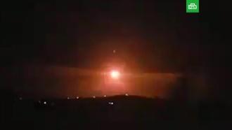 Появилось видео перехвата ракет сирийской ПВО.Израиль, Сирия, войны и вооруженные конфликты.НТВ.Ru: новости, видео, программы телеканала НТВ