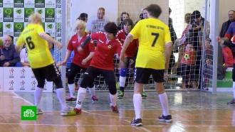 Турнир по футболу среди бабушек выиграла команда из Вильнюса