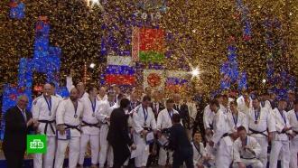 ВМоскве завершился международный турнир по дзюдо среди силовиков