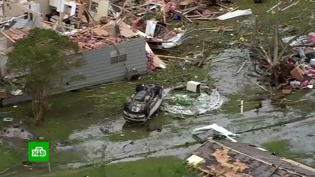 Восемь человек погибли на юге США из-за урагана и торнадо.США, стихийные бедствия, штормы и ураганы.НТВ.Ru: новости, видео, программы телеканала НТВ