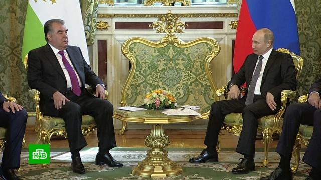 Путин назвал отношения Москвы иДушанбе «поистине союзническими».Путин, Таджикистан, переговоры.НТВ.Ru: новости, видео, программы телеканала НТВ