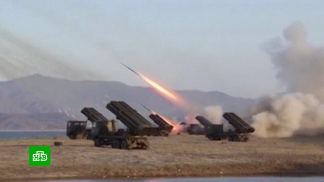 Ким Чен Ын намекнул Вашингтону на готовность кконфронтации.Ким Чен Ын, США, Северная Корея, Трамп Дональд, военные испытания.НТВ.Ru: новости, видео, программы телеканала НТВ