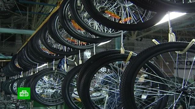 В России начнут эксперимент по маркировке велосипедов.торговля.НТВ.Ru: новости, видео, программы телеканала НТВ