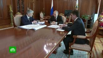 Воробьёв и Дитрих рассказали Путину о решении транспортной проблемы Химок