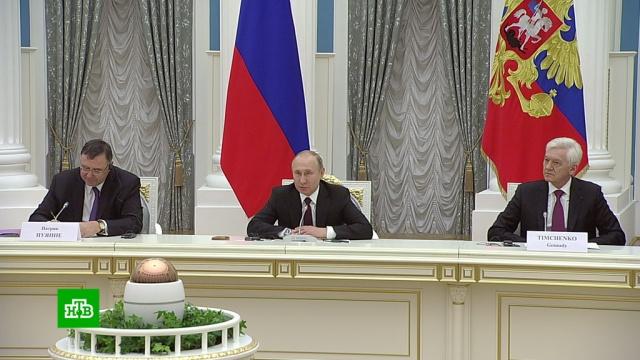 Путин пообещал европейскому бизнесу новые возможности.Путин, Франция, экономика и бизнес.НТВ.Ru: новости, видео, программы телеканала НТВ