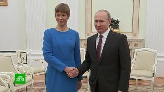 Президент Эстонии заявила оновом дыхании вотношениях сРоссией