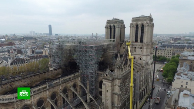 Причиной пожара в Нотр-Даме могло стать короткое замыкание.Париж, Франция, архитектура, пожары, расследование.НТВ.Ru: новости, видео, программы телеканала НТВ