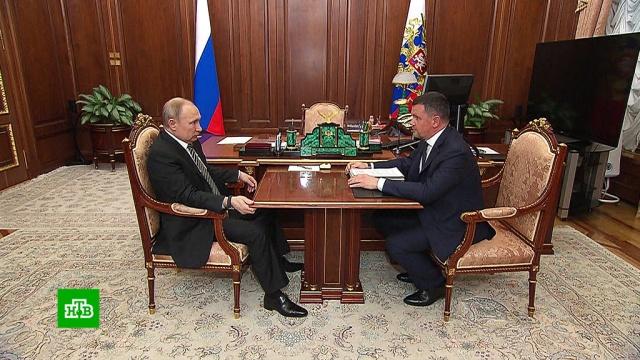 Вице-премьер Акимов попросил Путина поддержать создание сетей 5G.Интернет, Путин.НТВ.Ru: новости, видео, программы телеканала НТВ