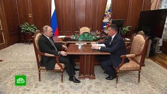 Вице-премьер Акимов попросил Путина поддержать создание сетей 5G