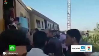 ВЕгипте сошел срельсов поезд: пострадали 40человек