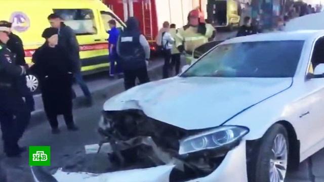 Водитель влетевшего в пешеходов BMW может отделаться штрафом.ДТП, Санкт-Петербург, автомобили.НТВ.Ru: новости, видео, программы телеканала НТВ