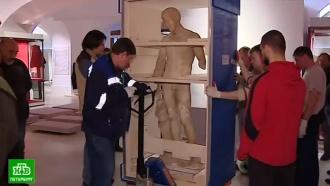 ВЭрмитаж впервые привезли археологические сокровища Помпей