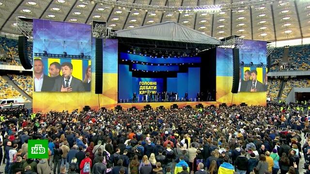 Много слов, эмоций, нервов: кто победил на дебатах Порошенко и Зеленского.Порошенко, Путин, Украина, выборы.НТВ.Ru: новости, видео, программы телеканала НТВ