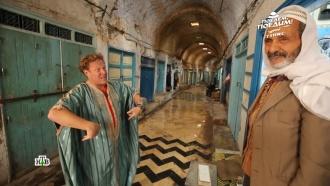 Джон Уоррен в Тунисе примерил «платье»