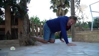 Ведущий «Поедем, поедим!» уполз на четвереньках после обильного угощения в Тунисе
