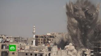 Под Дамаском саперы взрывают снаряды из схронов боевиков.войны и вооруженные конфликты, Сирия, терроризм.НТВ.Ru: новости, видео, программы телеканала НТВ