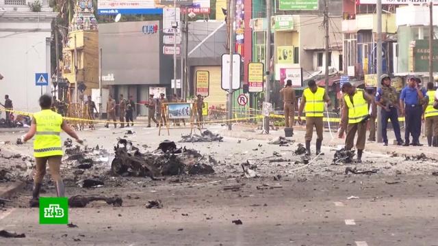 Полиция Шри-Ланки взорвала подозрительный мотоцикл.Шри-Ланка, взрывы, терроризм.НТВ.Ru: новости, видео, программы телеканала НТВ