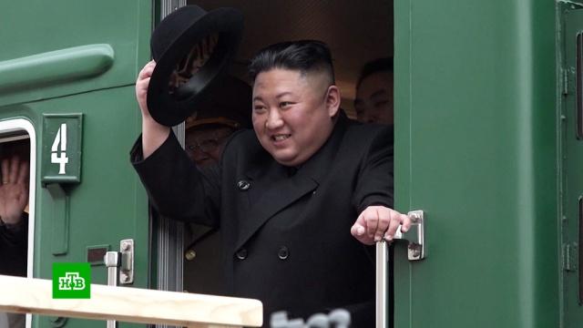 «Катюша» илюди вчерном: как Ким Чен Ына встретили во Владивостоке.Владивосток, Ким Чен Ын, переговоры, Северная Корея.НТВ.Ru: новости, видео, программы телеканала НТВ