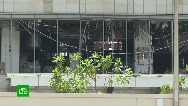 Силовики на Шри-Ланке взрывают подозрительные рюкзаки итранспортные средства.Шри-Ланка, взрывы, терроризм.НТВ.Ru: новости, видео, программы телеканала НТВ