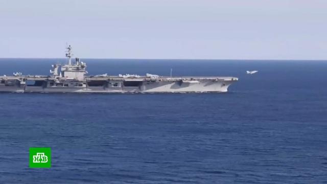 США пригрозили России авианосцами вСредиземном море.НТВ.Ru: новости, видео, программы телеканала НТВ